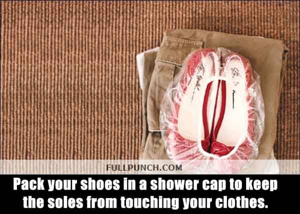 16-Pack-your-shoes-in-a-shower-cap-to-keep-the-soles-from-touching-your-clothes.