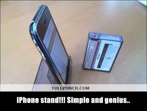4-iPhone-stand-Simple-and-genius..