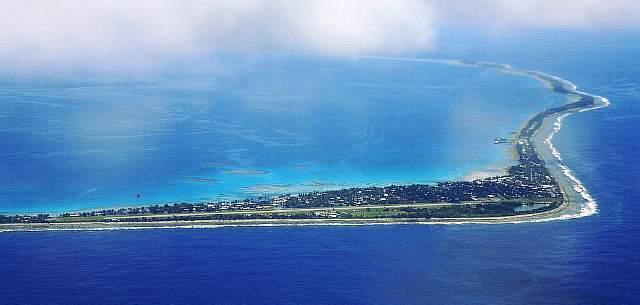 The 4th smallest country in the world, Tuvalu