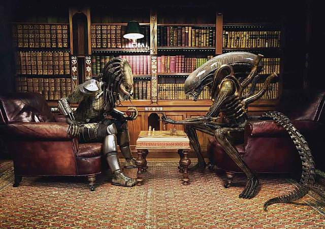 easily-one-of-our-favorite-images-in-this-set--alien-and-predator-playing-chess