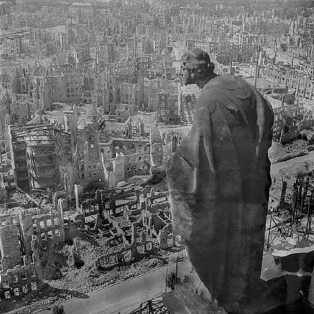 45 Dresden post bombing