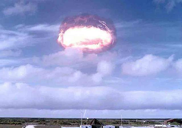 58 Nuclear Testing at Enewetak Atoll in the Marshall islands