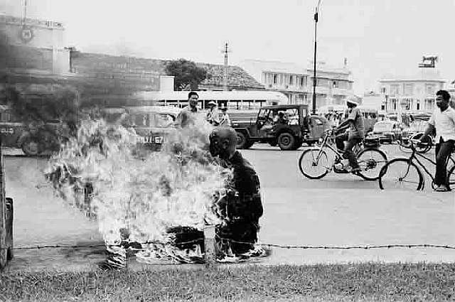 63 Monk self-immolation Vietnam