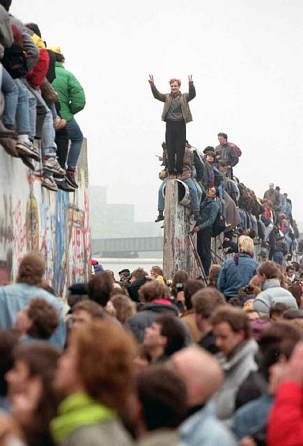 72 The Berlin wall