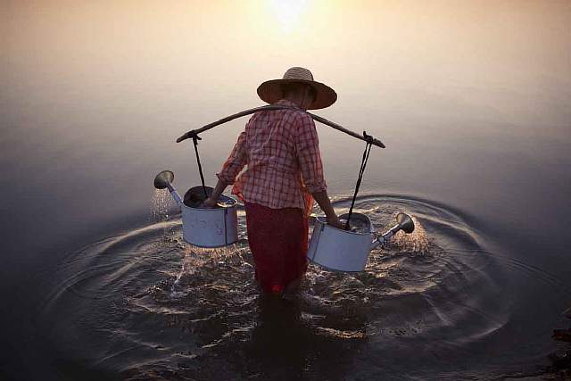 merit-winner-lady-in-water-location-bagan-myanmar