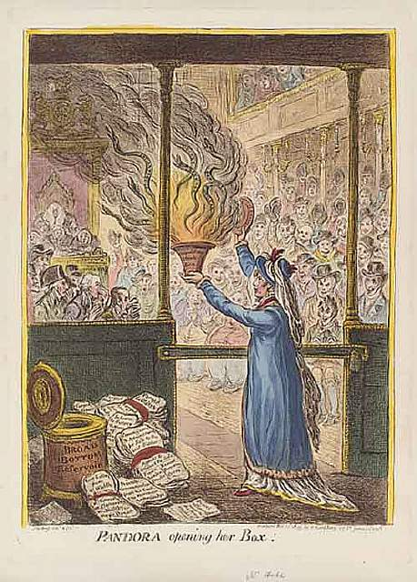 430px-Pandora_opening_her_box_by_James_Gillray