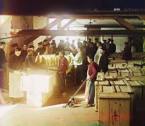 men-working-in-a-packing-section-of-a-mineral-water-warehouse-in-borzhom