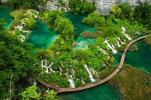 a-view-of-waterfalls-in-croatias-plitvice-lakes-national-park-the-park-is-made-up-