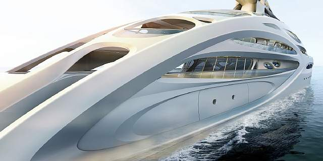 the-back-of-the-295-foot-yacht-features-the-webby-look-of-hadids-original-concept-design