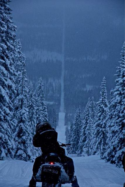 The border of Norway and Sweden.