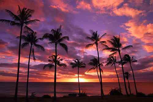 bigstockphoto_Hawaiian_Sonset_On_Molokai_3717803