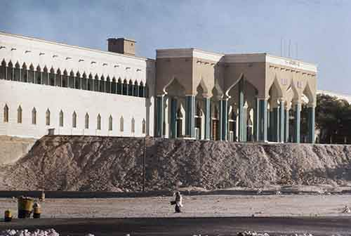 then-the-palace-of-the-ruling-sheikh-in-doha-qatar-in-1971-the-grounds-werent-even-complete-yet
