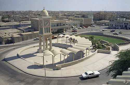 then-this-was-the-clock-tower-in-the-industrial-center-of-doha-in-1971