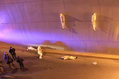 coahuila-mexico-is-one-of-the-hot-beds-of-the-drug-war-here-police-arrive-at-a-crime-scene-where-two-bodies-hang-from-a-bridge