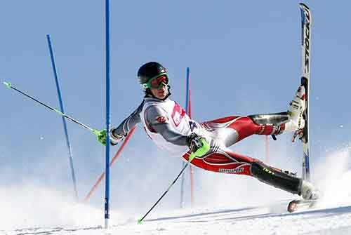 here-a-competitor-at-a-slalom-contest-in-poland-loses-his-footing