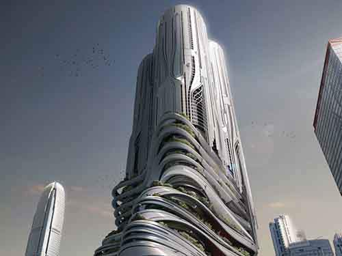 piexus-an-abstract-skyscraper-would-be-set-on-hong-kongs-harbor-to-act-as-a-hub-for-water-and-street-traffic-with-apartments-in-the-upper-levels