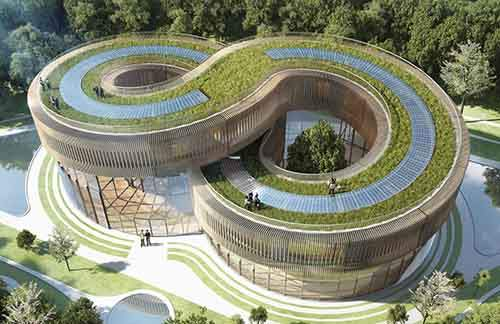 The space-age self-sustaining eco community to be built this yea
