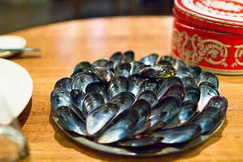 blue-mussels-and-celery-arrived-on-a-beautifully-arranged-plate