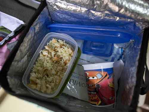 buenos-aires-argentina-a-lunch-box-containing-rice-with-chicken-milanesa--chicken-covered-with-egg-and-bread