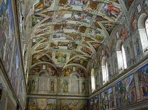 gaze-up-at-michelangelos-sistine-chapel-ceiling-although-its-technically-in-vatican-city-any-trip-to-rome-wouldnt-be-complete-without-seeing-this-esteemed-artwork