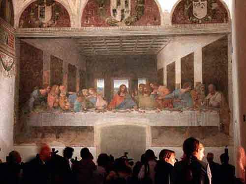 view-leonardo-da-vincis-painting-the-last-supper-in-milan-plan-ahead-youll-often-have-to-buy-tickets-in-advance-to-see-the-famous-piece-of-art