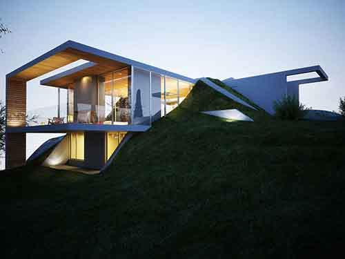 Balcony-Glass-Balustrading-Floor-to-Ceiling-Windows-Earth-House-Project
