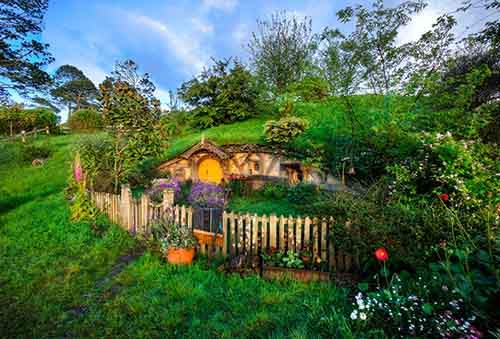 6 - Quaint Hobbit Hole-X2