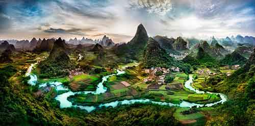 Deep in the Guangxi Province of China-X2