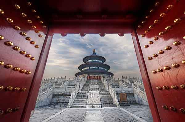 Gateway to the Temple of Heaven-X2