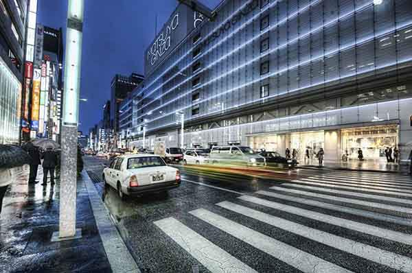 Ginza at Night-X2