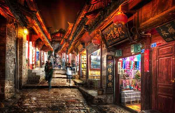 Lijiang at Night-X2