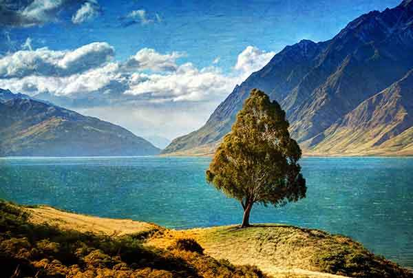 Trey Ratcliff - Lake Hawea-X2