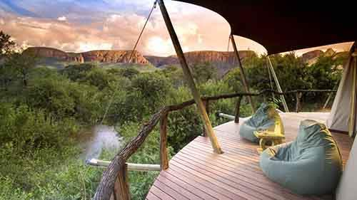 The Marataba Safari Company is a gorgeous secluded luxury camp deep in one of South Africa's most renowned national parks - the Marakele