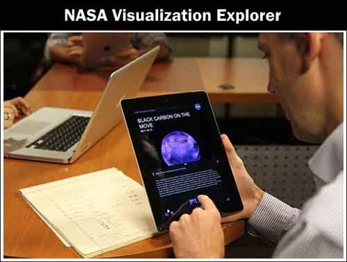 NASA Visulization Explore (APP)
