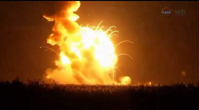 the-antares-a-private-rocket-built-by-orbital-sciences-corporation-explodes-in-a-ball-of-fire-seconds-after-launch-in-wallops-island-virginia-on-october-28