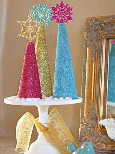 Glitter-Christmas-Tree-Decorations
