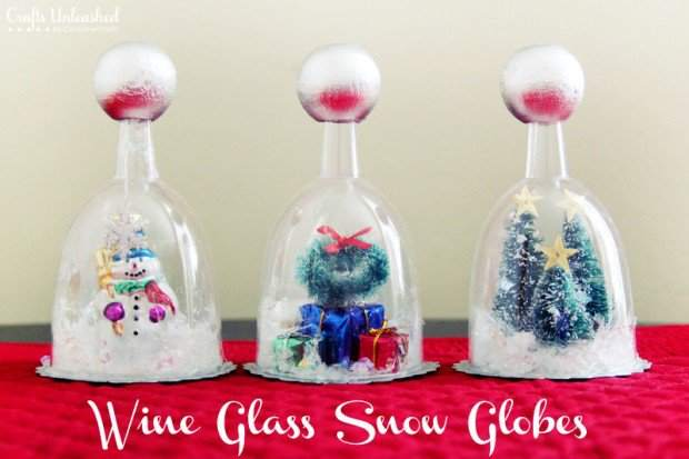 Wine-Glass-DIY-Snow-Globe-Craft