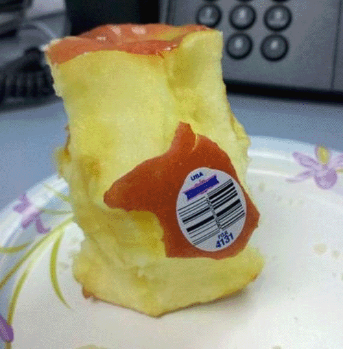 apple-with-sticker