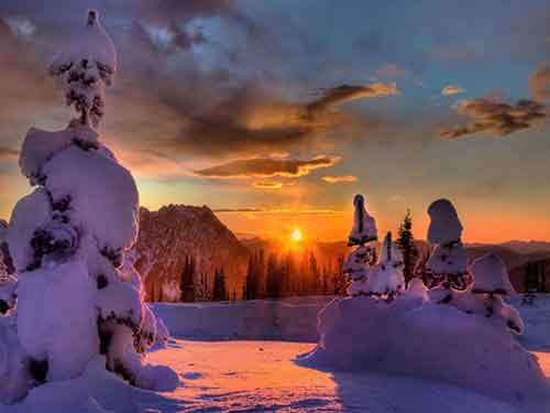 beautiful-winter-sunset