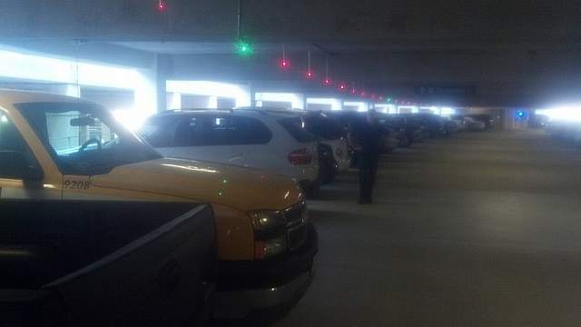 parking-garage-with-lights-to-show-spaces