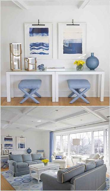 Stools-under-the-Console-Table
