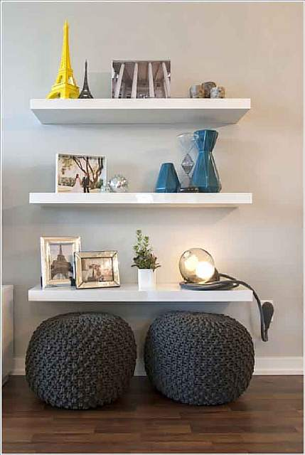 Use-The-Space-under-Floating-Shelves-and-Put-Poufs