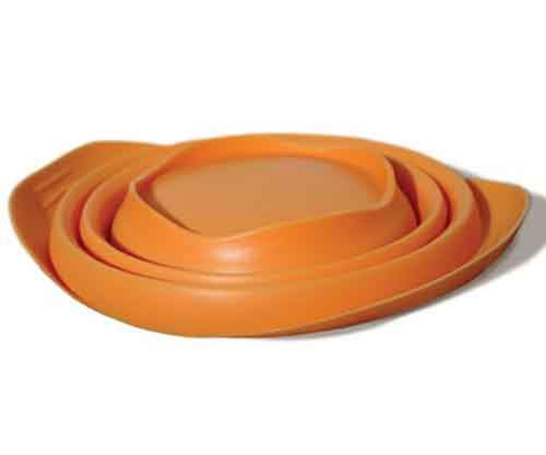 Collapsible-Travel-Pet-Bowl-orange-flat