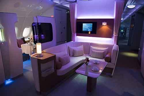 First Class on an A-380