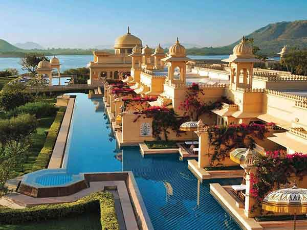 the-oberoi-udaivilas-in-udaipur-india-has-a-gorgeous-pool-that-guests-can-swim-in-directly-from-their-private-rooms