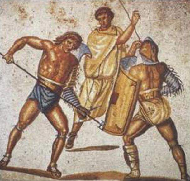 retiarius-stabs-at-a-secutor