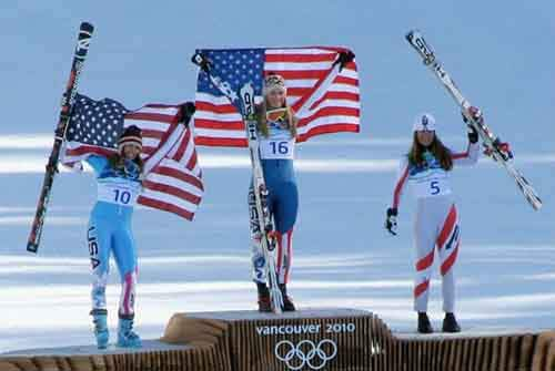2010_Winter_Olympic_-_Womens_downhill_medals-610x409
