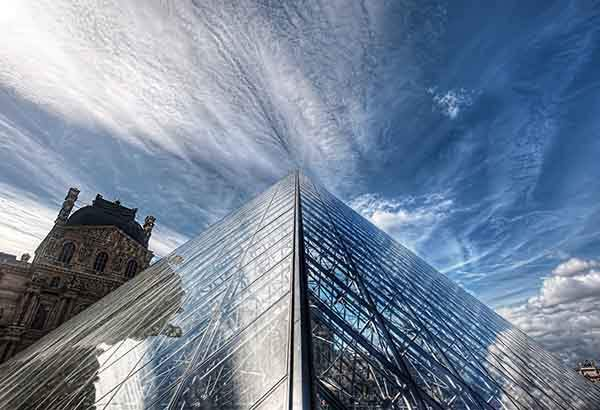 Louvre in the Clouds-X2