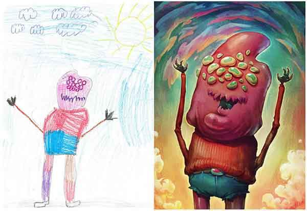 the-monster-project-artists-from-around-the-world-brought-to-life-childrens-drawings-artnaz-com-1