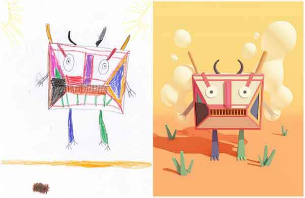 the-monster-project-artists-from-around-the-world-brought-to-life-childrens-drawings-artnaz-com-10
